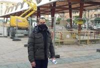 Arrancan las obras de reforma de la Plaza de la Alhóndiga
