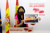 Ana Sánchez, secretaria de Organización del PSOE de Castilla y León.