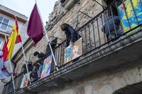 Carnaval deslucido en la capital, colorido en Salas