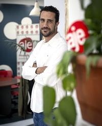 Luis García Ruiz, presidente de AJE en Albacete.