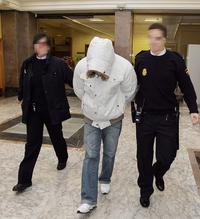 Rafael Gabarri durante una de las jornadas del juicio celebrado en 2009.