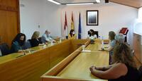 Reunión en el Ayuntamiento de Elche de la Sierra.
