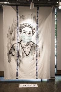 Exposición en Alameda de Julita Romero. ' Los ojos que miran'.