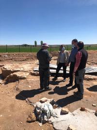Las excavaciones de El Cañavate dan trabajo a siete personas