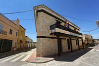 Casa Consistorial de Alcadozo, cuyo exterior ya se reformó anteriormente.