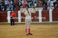 Tomás Rufo se estrena con matrícula de honor como matador de toros