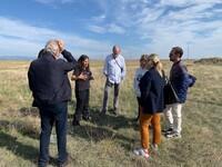 Técnicos de la Fundación Global Nature visitaron la zona.