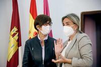 Gámez: «Con el nuevo cuartel de Toledo vamos paso a paso»