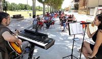 Villamuriel pone en marcha el Certamen Música en la Calle