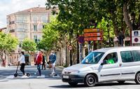 Logroño ya es Ciudad 30, lo que ayudará a reducir accidentes