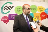CSIF alerta de la temporalidad entre los empleados públicos