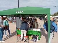 Vox Cuenca instala una mesa informativa en Quintanar del Rey