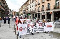 Manifestación del 1 de mayo en Segovia