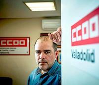Raúl García Agudo es el nuevo delegado de CCOO en Valladolid.