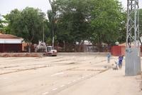 El Ayuntamiento adapta el recinto de atracciones de feria