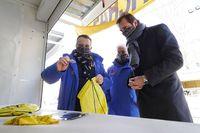 El alcalde de Valladolid visita las casetas de Pingüinos