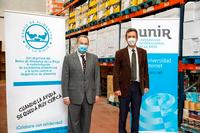 La UNIR dona 20.000 euros al Banco de Alimentos de La Rioja
