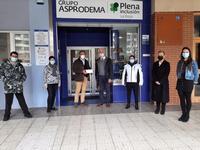 Asprodema recibe 2.734 euros del belén municipal