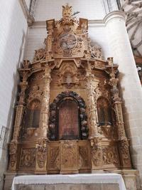 Retablo del Rosario, de la Iglesia de San Martín de Mota del Marqués