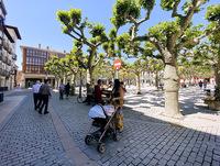 Briviesca vivió su mayor crecimiento demográfico en el año 2008, con 7.939 personas empadronadas.