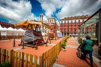 Instalación del Mercado Castellano en la Plaza Mayor