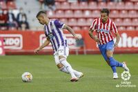 Imágenes del Sporting-Real Valladolid