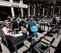 Imagen del exterior de un establecimiento hostelero de la ciudad de Burgos.