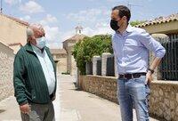 El presidente de la Diputación, Conrado Íscar, visitó ambos municipios.