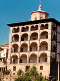 Fachada del Palacio Marqués de Casa Torre, en Igea.