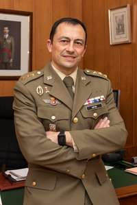 El nuevo subdelegado de Defensa, el coronel Fernando Antón.