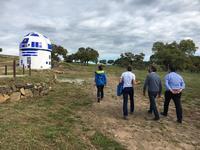 La Diputación se interesa por el astroturismo en Badajoz