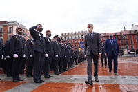 Acto central del Día de la Policía en Valladolid