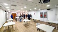 Panorámica del centro de formación, con funcionalidad de sala de crisis.