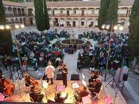 Concierto de la Orquesta Filarmónica de La Mancha en Infantes.