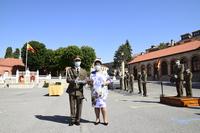 Fin de curso en la Academia de Artillería