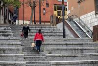 Hartazgo por las escaleras que casi nunca funcionan