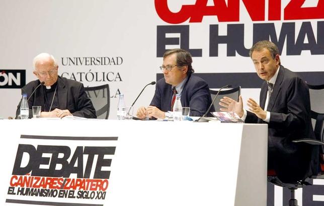 Debate entre Antonio Cañizares y Rodríguez Zapatero.