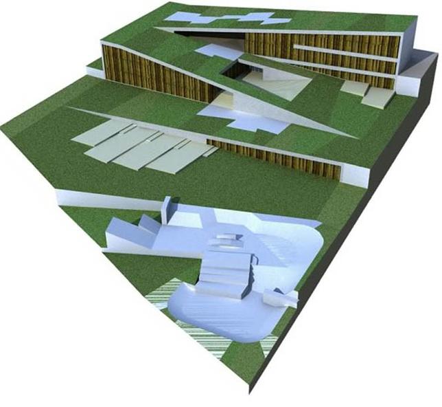 El proyecto 'Zig Zag' es obra de los arquitectos Vicente Molina y Antonio Felipe Rello.