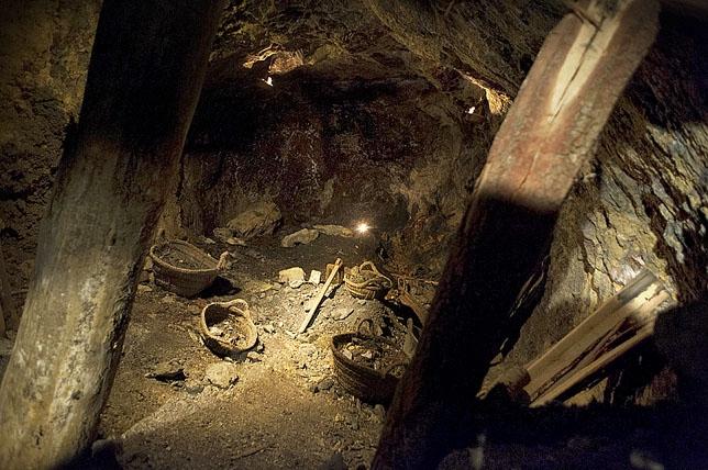 Imagenes de Las Minas de Almadén./