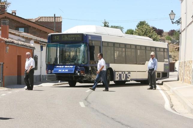 El accidente se produjo en Santa Cecilia del Alcor (Palencia). Óscar Navarro (DP)