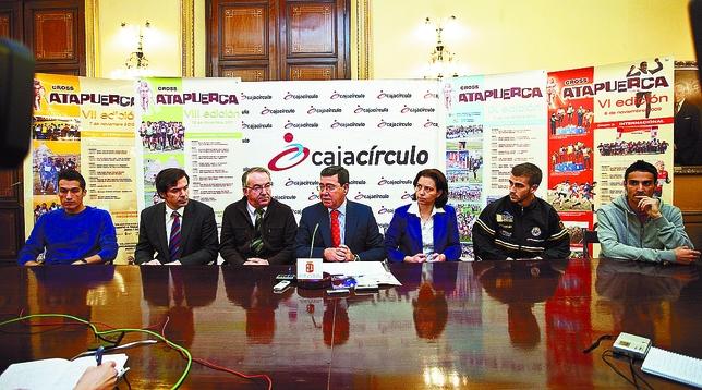 La prueba internacional fue presentada ayer en rueda de prensa por César Rico, presidente de la Diputación. Patricia