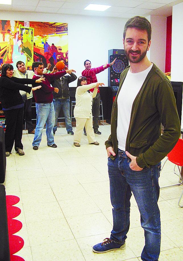 Javier Santaolalla, actor. «Con ellos tengo que buscar otras vías y está muy bien» M.J.F.