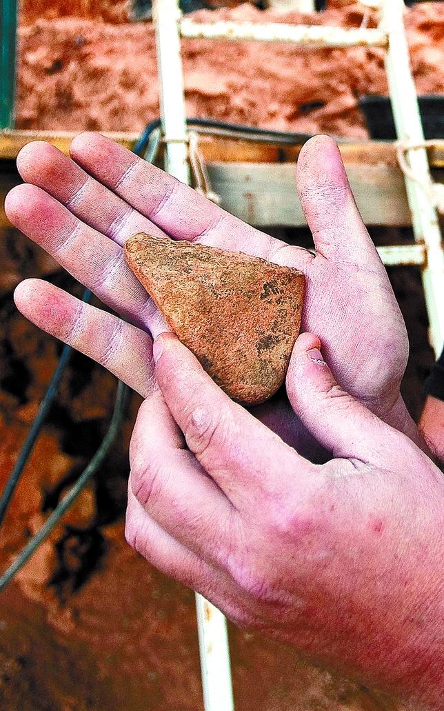 Tecnología empleada para descuartizar animales de hace un millón de años.  Luis López Araico