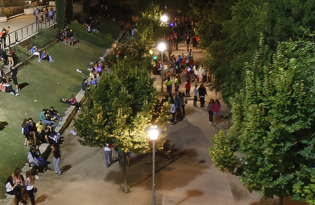 Carpa informativa en Las Moreras para prevenir el consumo de alcohol y cannabis