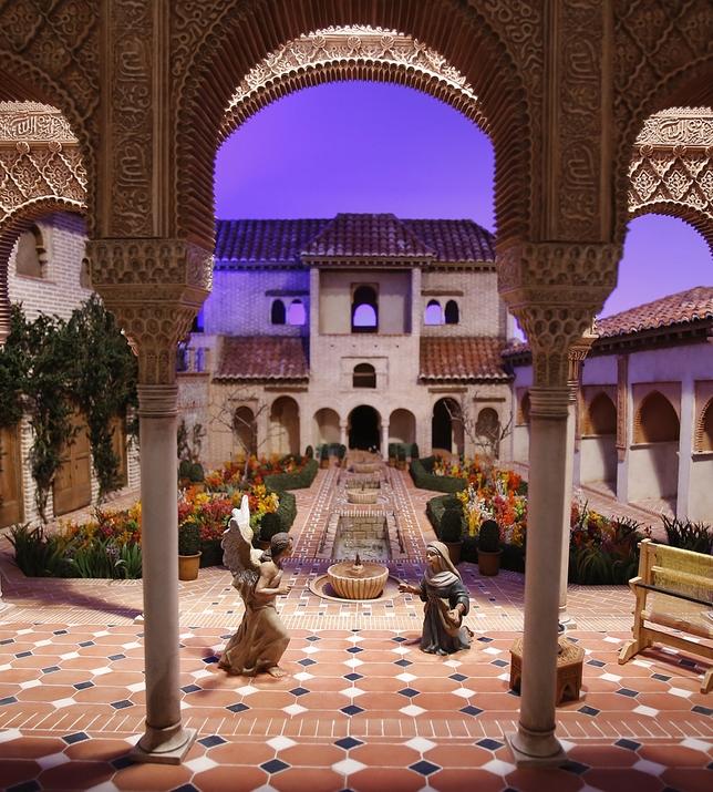 Belén en el Palacio de Pimentel Valladolid