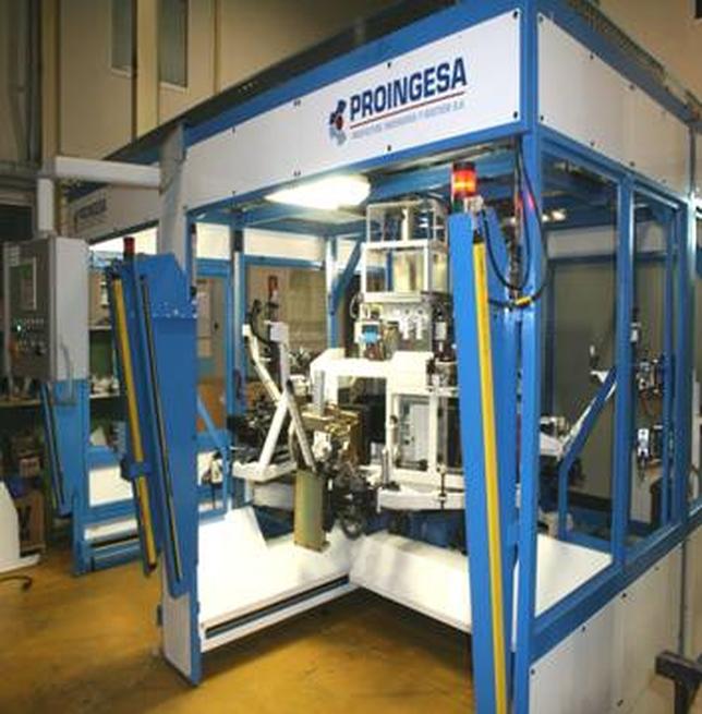 Una de las máquinas fabricadas por Proingesa para Renault.