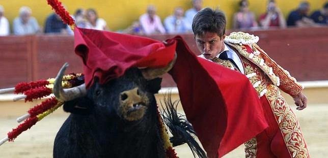 Corrida de toros en la plaza de Ávila.