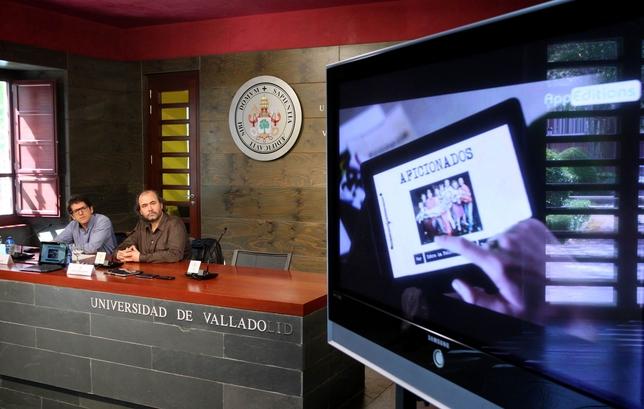 Presentación, en la UVa, de la primera película europea para descargar en móviles y tabletas. Ical