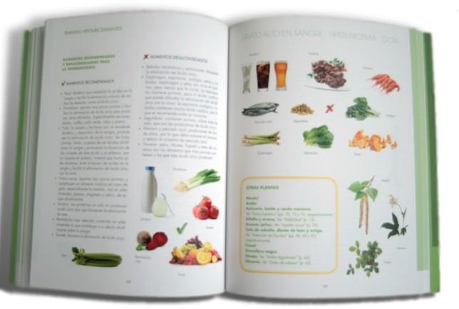 páginas interiores del libro Remedios Naturales para Síntomas habituales