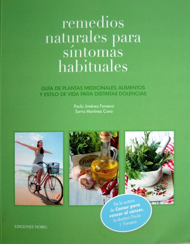 Portada de Remedios Naturales para Síntomas Habituales